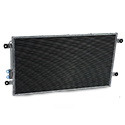 AC Condenser 33.50 X 18.875 Inch With Short Brackets Fits Freightliner Cascadia & Columbia