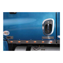 Cab Panels With Amber LED Amber Lens Lights Fits Freightliner Cascadia (Pair)