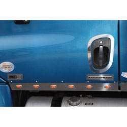 Stainless Steel Logo Trims Fits Freightliner Cascadia
