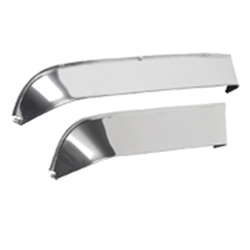 Chrome Finish Ventshade Side Window Deflector Fits Freightliner
