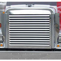 Stainless Steel Louvered Grille Fits Freightliner