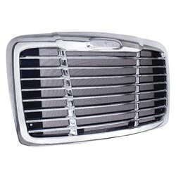Freightliner Cascadia Grille Chrome Plated Grille With Bug Screen