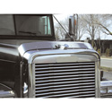 Stainless Steel Bugshield for Freightliner Classic Models