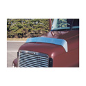 Stainless Steel Hood Bugshield Fits Freightliner Century
