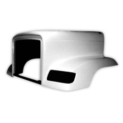 Jones Performance Fiberglass Hood Fits Freightliner FLD 120
