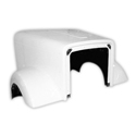 Jones Performance Fiberglass Hood Fits Freightliner Classic XL