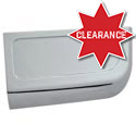 Chrome Center Storage Compartment Panel Fits Freightliner Century