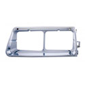 Chrome Plastic Headlight Bezel Fits Freightliner FLD Driver Side