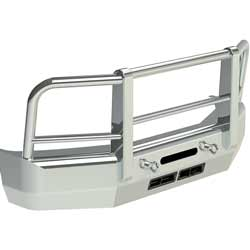 Herd Aero LT 2 Post Grille Guard Fits Ford F450-F550 2008-2010