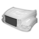 Jones Performance Hood - Ford F650 & F750 - 2000 to 2003