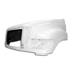 Jones Performance Hood - Ford F650 & F750 2005-2010