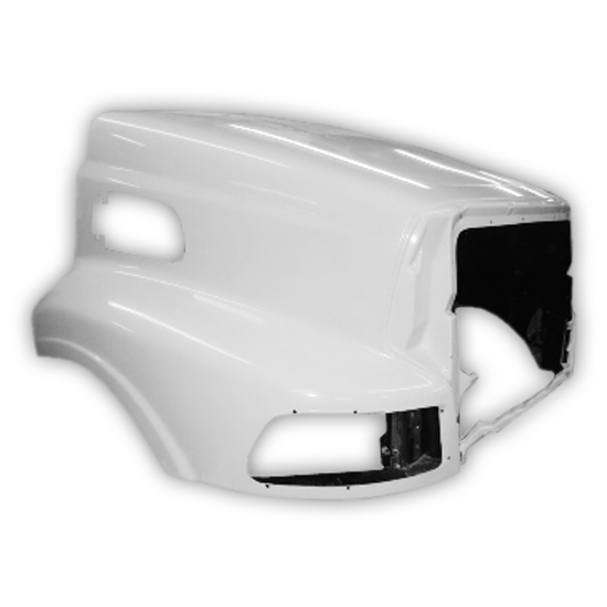 Jones Performance Fiberglass Hood Fits Sterling LT8513-L9513 Up To 2007