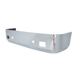 International 9200/9400 Wrap Around Bumper 18 Inch Chrome Plated With Bolt & Tow Holes