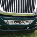 International ProStar Bumper Logo Insert Stainless Steel
