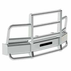 Herd Defender 2 Post Grille Guard With Slam Latch Fits International ProStar