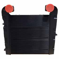 Tube And Fin Charge Air Cooler 23 X 23.82 Inch Fits International S Series & Freightliner MT 35/45/55