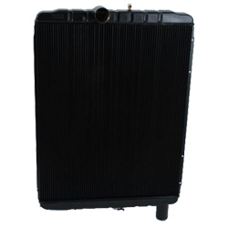 Plastic Aluminum Radiator 33.625 X 28 Inch Fits International TranStar, 5000, 7000, 8000, 9000 Series