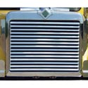 International 9300 Grille Stainless Steel With 15 Louvered Horizontal Bars