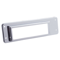 Chrome CB Radio Bezel for International