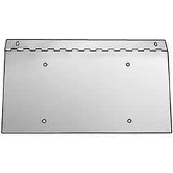 Stainless Steel Hinged Single Plate Holder