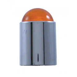Bumper Guide Top With Amber Dome Lens (Pair)