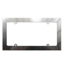Blank Square Corners With Sides License Plate Frame