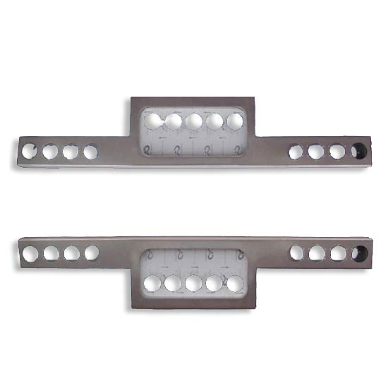 Aluminum rear light bar t bar style or can be inverted 4 state aluminum rear light bar t bar style aloadofball Image collections