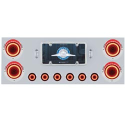 Rear Center Panel With Mirage Lights 24 & 9 Diode With Clear Lens