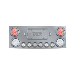 Rear Center Panel With Dual Revolution Red/White LED Lights