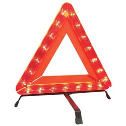Safe-Lite Deflecto LED Warning Triangle