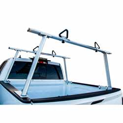 Aluminum Truck Rack Fits Pickup Trucks With Long Or Short Beds - 800 Pound Capacity