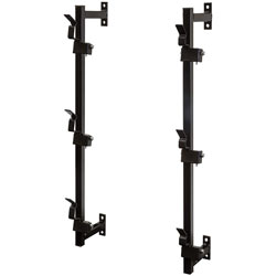 3 Position Steel Snap-In Trimmer Rack For Enclosed Landscape Trailers