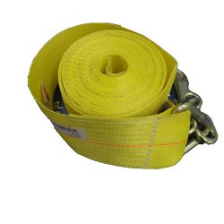 Cargo Winch Strap With Chain 4 Inch X 30 Feet
