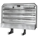 BLEM  Headache Rack w 2 Chain Hangers and Trays - 73In x 78In
