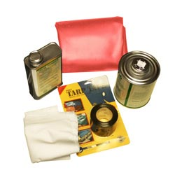 Red Vinyl Tarp Repair Kit