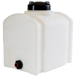 26 X 18 X 19 Inch 26 Gallon Domed Polyethylene Portable Storage Solution For Non-Flammable Liquids