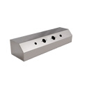 Stainless Steel Airline Box with 2 Electric Plugs