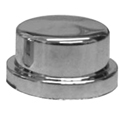Chrome Plastic 3/4 Inch Short Nut Cover For Bumper Bolts