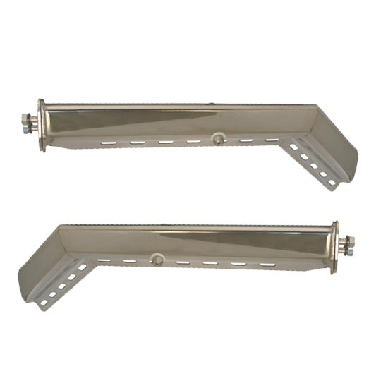 Stainless Steel Angled Mudflap Hanger - 4 State Trucks