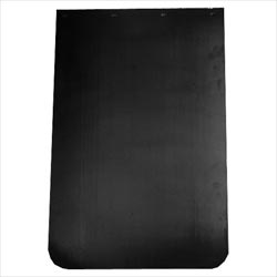 24 X 36 Inch Black Plastic Mud Flap