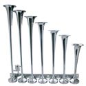 7 Trumpet Horizontal Chrome Train Horn