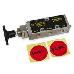 Push & Pull Solenoid Valve 4-Way 2 Position Non-Holding For Air Cylinders