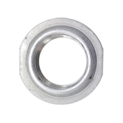 Weld-In Flat Style Aluminum Flange With Female Pipe Thread Center