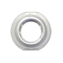 Weld-In Curve Style Aluminum Flange With Female Pipe Thread Center