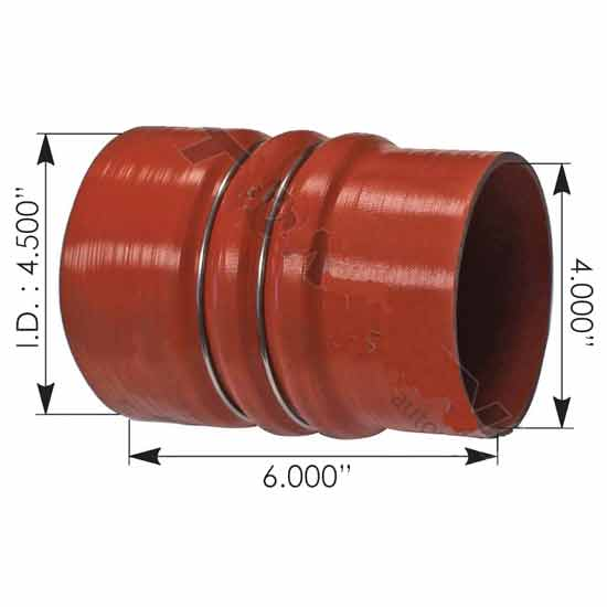 4 5 To 4 X 6 Inch Silicone Hump Hose