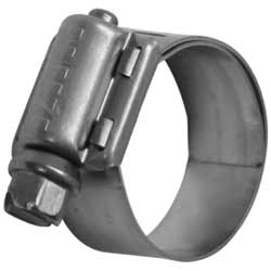 Lined Hose Clamp  0.562 - 1.06 Inch Stainless Steel
