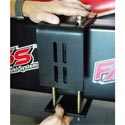 Fass Fuel System Mounting Bracket - Eliminates Frame Drilling