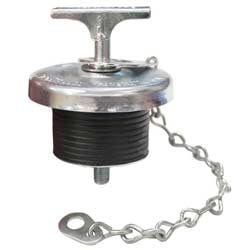 1.875 Inch Oil Filler Cap With Chain Fits CAT