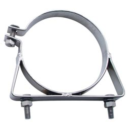 6 Inch Stainless Steel Universal Exhaust Clamp