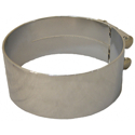 6 Inch Chrome-Plated Stainless Steel  Exhaust Clamp For Kenworth
